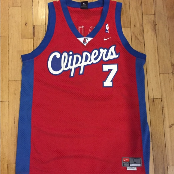 huge selection of b1455 6e9bf Nike Lamar Odom LA Clippers Jersey